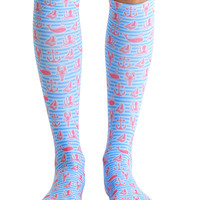 Sailor Knee High Socks