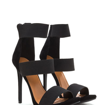 Wide Not Triple Strap Heels