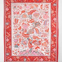 Lotus Dream Tapestry- Red Multi One