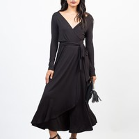 Jersey Wide Leg Jumpsuit