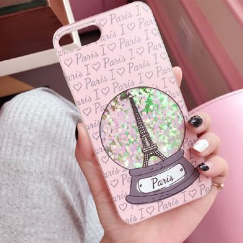 Eiffel Tower:print phone shell phone case for Iphone 6/6S/6P/6SP/7P/7/8/8P/X
