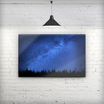 Silhouette Night Sky - Fine-Art Wall Canvas Prints