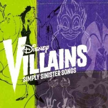 LMFCY2 DISNEY VILLAINS:SIMPLY SINISTER SONGS