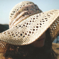 hair with sun hat tumblr - Google Search