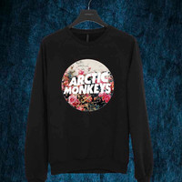 Arctic Monkeys flower sweater Sweatshirt Crewneck Men or Women Unisex Size