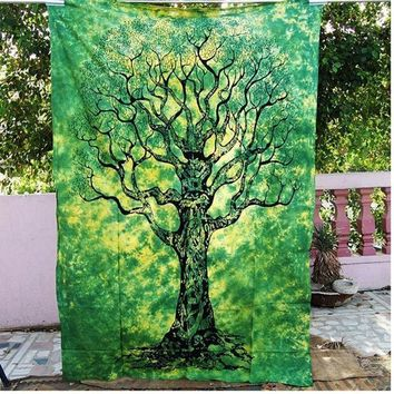 New Multipurpose Bohemian Printing Wall Hanging Tapestries Beach Mat Home Decor