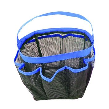 NEW Storage Bags 8 Pocket Hanging Bag Quick Dry Hanging Mesh Shower Tote Caddy Organizer Bath Bag Perfect for Gym Camp Travel