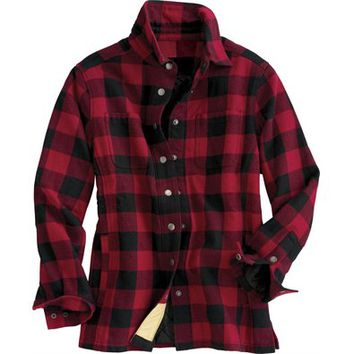 Women's Flapjack Flannel Shirt Jac