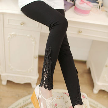 Stretchy And Skinny Cotton Legging