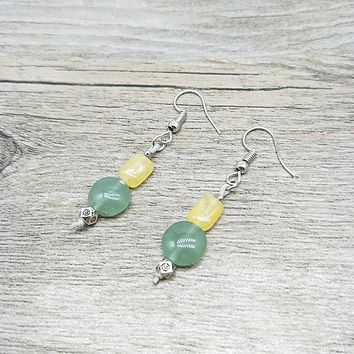 Natural Stone Handmade Earrings