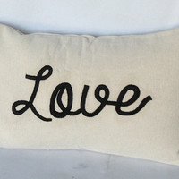 Valentine day gift ideas for her, Valentine Gifts, Boy Friend Pillows, Love pillows, Typography pillows, Monogram Lumbar Pillow