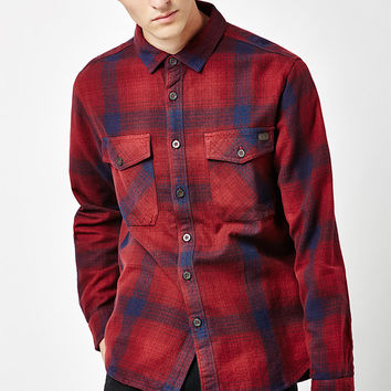Billabong Ventura Plaid Flannel Long Sleeve Button Up Shirt at PacSun.com