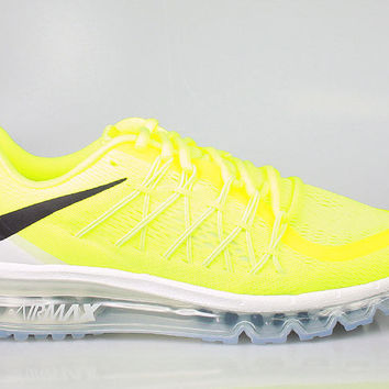 Nike Men s Air Max 2015 Volt Black from KickzStore  83fad493417b