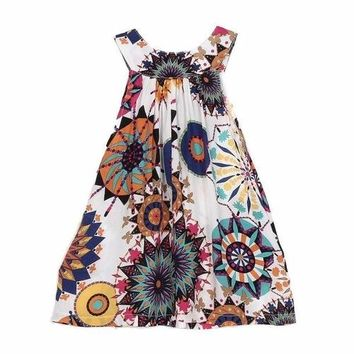 Cute Toddler Baby Girl Dress Flowers Girls