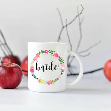 Coffee Mug - Coffee Cup - Mug - Custom Coffee Mug - Personalized Mug - Ceramic Mug - Gift for Her - Coffee - Cute Mug - Wedding Gift - Bride