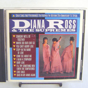 Diana Ross and the Supremes CD Vintage Used Music Motown Soul Funk Superstar
