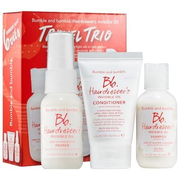 Hairdresser's Invisible Oil Travel Trio - Bumble and bumble | Sephora
