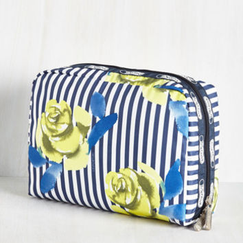 The Rose Best Traveled Makeup Bag | Mod Retro Vintage Wallets | ModCloth.com