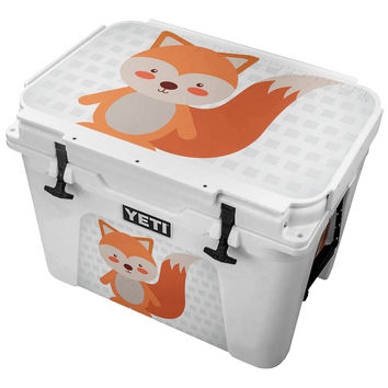 What does the Red Tailed Fox Say Skin for the Yeti Tundra Cooler