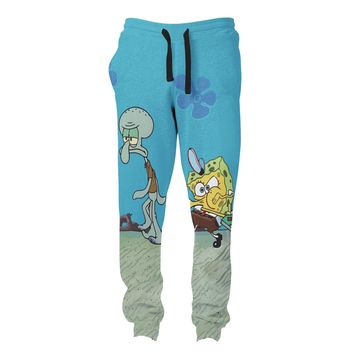 Krusty Krab Pizza Joggers