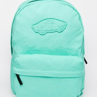 Vans Realm Backpack in Mint Green