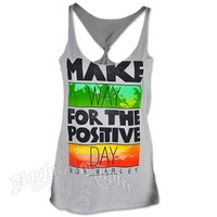 Bob Marley Make Way Silver Twist Tank Top – Women's at RastaEmpire.com