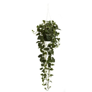 Philodendron Hanging Basket Silk Plant