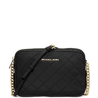 Michael Michael Kors Quilted Nylon East West Crossbody