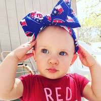 Texas Rangers Head Wrap