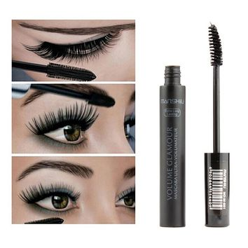 MASCARA MAKEUP Black 3D Fiber Mascara Volume Curl Thick Waterproof Eyelashes Extension Brand Makeup