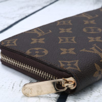 LV fashion leather spell color long wallet[380413673508]