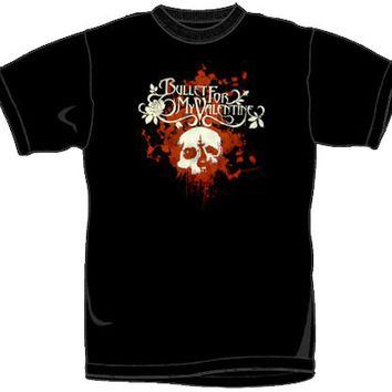 Bullet For My Valentine T-Shirt - Bloody Skull