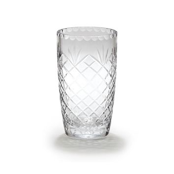Optic Crystal 8.5inch Medallion Ii Vase