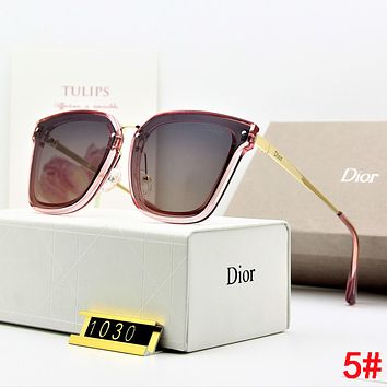 DIOR Hot Sale Summer Women Chic Casual Sun Shades Eyeglasses Glasses Sunglasses 5#
