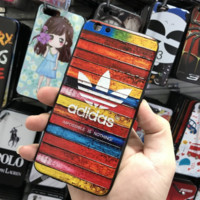 Unique Rainbow Adidas Print Iphone 6 6s Plus/ 7 7 Plus/8 8 Plus Cover Case