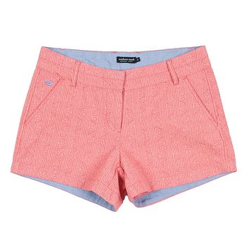 Limes of Latitude Brighton Shorts in Strawberry Fizz & Melon by Southern Marsh