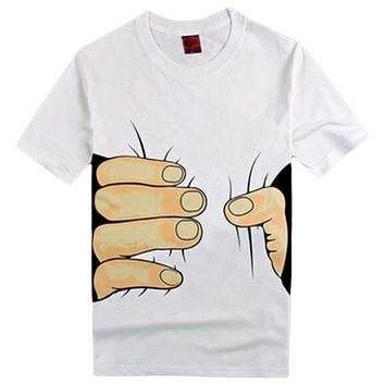 Giant Hand Squeezing T-Shirt