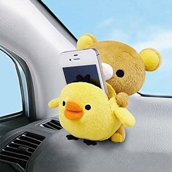 RILAKKUMA & KIIROITORI Cell phone Car Stand . Mobile Phone Cellular phone