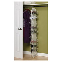 Household Essentials Storage & Organization 10 Pocket Hanging Shoe Organizer