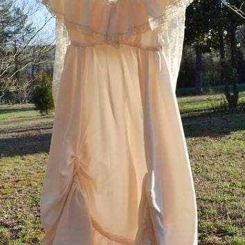 Vintage 1970s Gunne Sax Dress Boho Hippie Dress Vintage Wedding Gown