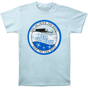 Breaking Bad Men's  Car Wash T-shirt Blue Rockabilia