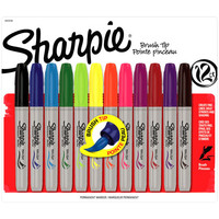 Sharpie® Brush Tip Marker Set