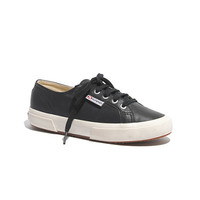 Superga® x Madewell 2095 Leather Sneakers in Navy