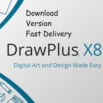 Serif DrawPlus X8 ESD - 12 Language Choices - Download - Fast Email Delivery! | eBay