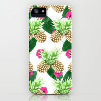Tropical Fruits iPhone & iPod Case by Grace