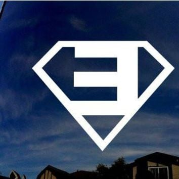 Eminem Superman Car Window Vinyl Decal