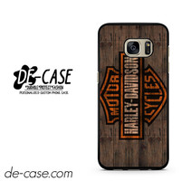Harley Davidson Motor Cycles Wood Logo DEAL-5047 Samsung Phonecase Cover For Samsung Galaxy S7 / S7 Edge