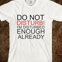 Supermarket: Disturb T-Shirt from Glamfoxx Shirts
