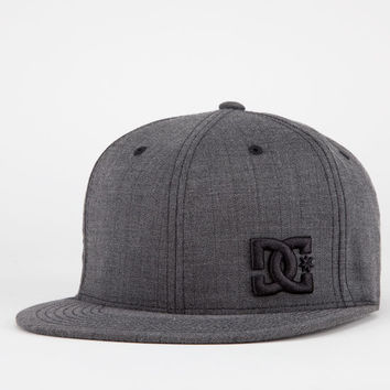 Dc Shoes Radical Mens Hat Charcoal  In Sizes