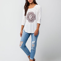 BILLABONG Midnight Medallion Womens Raglan Tee | Raglans & L/S Tees
